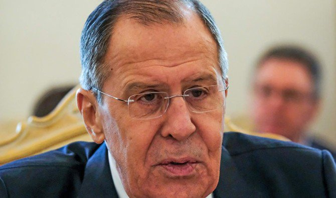 Russian Foreign Minister Sergei Lavrov says no decision has been made. /(AFP)