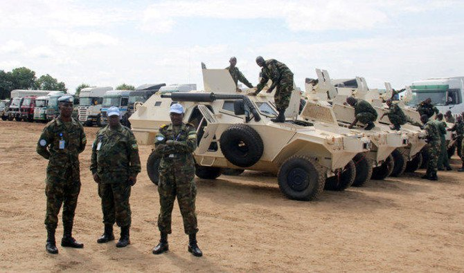 File photo showing UN troops in South Sudan. (Reuters)