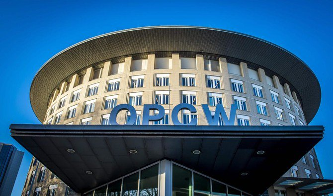 Organization for the Prohibition of Chemical Weapons Building in The Hague/ AFP