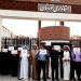 Families of prisoners in Ahvaz protest in front of the governor's office in Ahvaz, Iran, on April 16, 2018. (Handout via REUTERS)