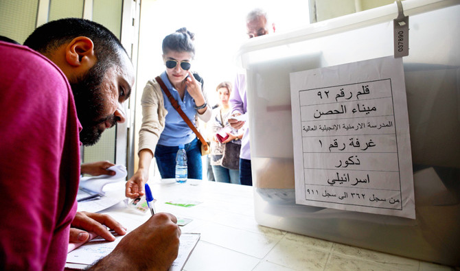 A new electoral law in 2017 merged proportional representation with quotas for each religious group to maintain the country's sectarian balance in Parliament. (Reuters)