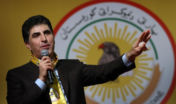 Nechirvan Barzani, Prime Minister of Iraq's Kurdistan Regional Government (KRG) (AFP/Safin Hamed)