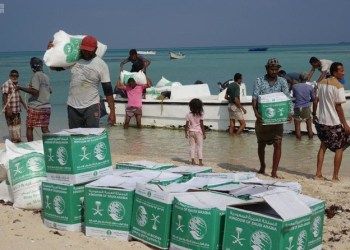Two relief planes from the King Salman Humanitarian Aid and Relief Center (KSRelief) arrived to the Yemeni island of Socotra. (File photo: SPA)