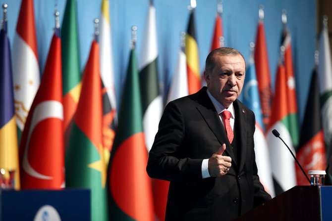 Turkey has called for an emergency OIC meeting after the mass killing of unarmed protesters in Gaza. (File photo: Turkish Presidential Press Service via AFP)
