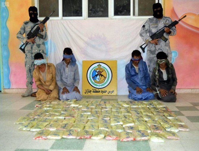 Saudi border guards thwarted several attempts to smuggle 1,117 kilograms of hashish and arrested 30 suspects from different nationalities. (SPA)