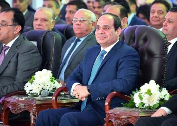 El-Sisi took the oath of office Saturday before parliament amid tight security enforced throughout Cairo. (AFP)
