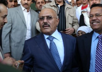 File photo showing Yemen's former president Ali Abdullah Saleh. (AFP)