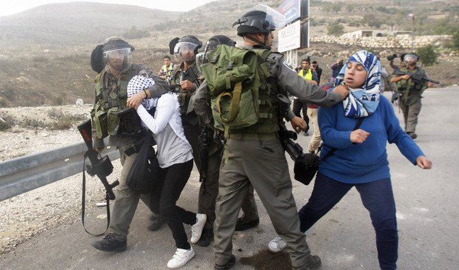 On Tuesday, police evicted settlers from 15 homes in a separate outpost north of the West Bank city of Hebron that was deemed illegal. (Reuters)