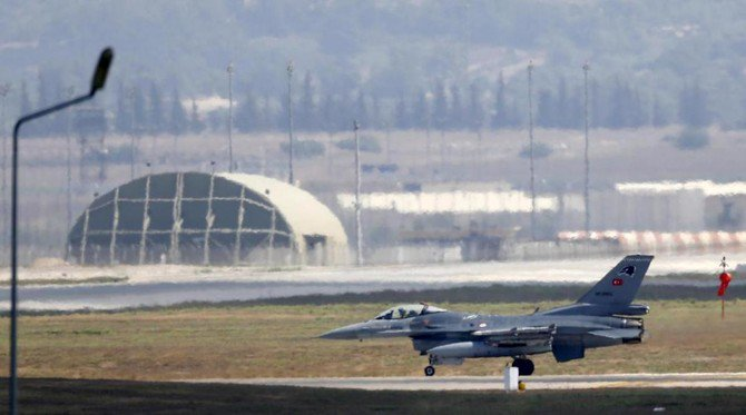 The Turkish military said it carried out air strikes in northern Iraq on Friday, killing 15 Kurdish militants. (Reuters)