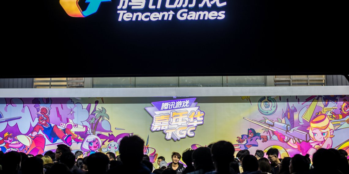 Visitors attend the annual Tencent Games Carnival (TGC) in Chengdu, Sichuan province, China December 2, 2017. Picture taken December 2, 2017. REUTERS/Stringer