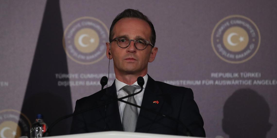 FILE PHOTO: German Foreign Minister Heiko Maas attends a news conference in Ankara, Turkey September 5, 2018. REUTERS/Umit Bektas/File Photo