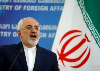 FILE PHOTO: Iranian Foreign Minister Mohammad Javad Zarif speaks to the media in Tbilisi, Georgia, April 18, 2017. REUTERS/David Mdzinarishvili/File Photo