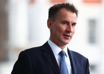 Britain's Foreign Secretary Jeremy Hunt arrives at the Foreign Office in Westminster, London, September 10, 2018. REUTERS/Hannah McKay