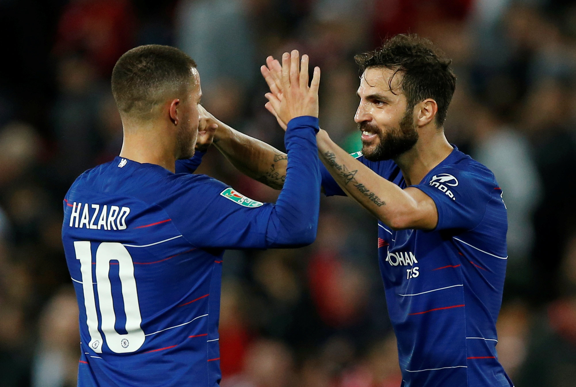Magnificent Hazard ends Liverpool's 100 percent start - Middle East