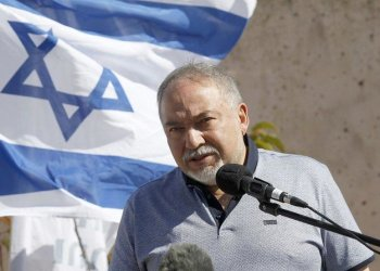 "Israeli Defense Minister Avigdor Lieberman said the US sanction is the ""sea-change the Middle East has been waiting for."" (AFP)"