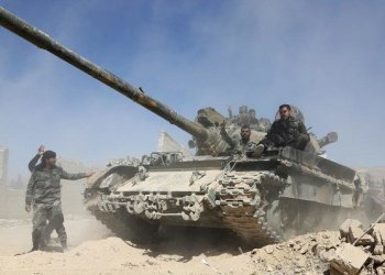 Syrian troops now control wide parts of the country's south. (File/AFP)