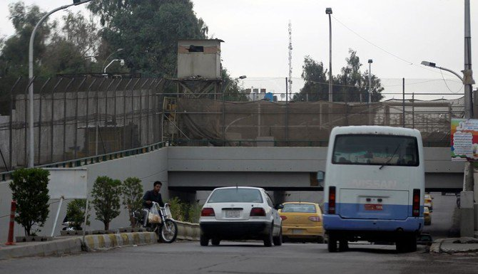 The partial reopening of Baghdad's high-security Green Zone to through traffic that was planned for Sunday has been postponed for several days. (AFP)