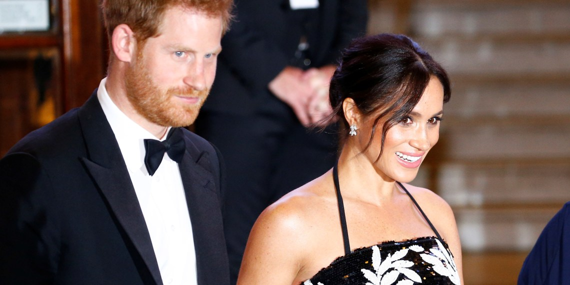 FILE PHOTO: Britain's Prince Harry and Meghan, the Duchess of Sussex, leave after the Royal Variety Performance in London, Britain November 19, 2018. REUTERS/Henry Nicholls