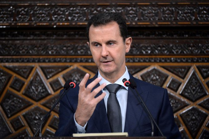 Syria's president on Thursday announced a budget for 2019 of almost $9 billion. (SANA/Reuters)