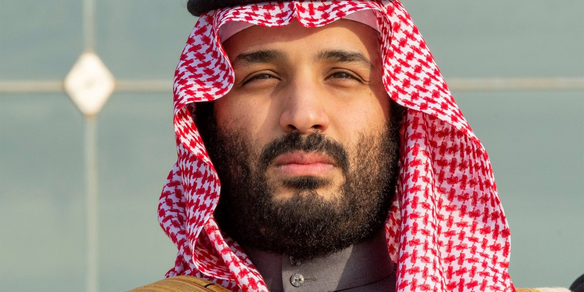 FILE PHOTO: Saudi Arabia's Crown Prince Mohammed bin Salman attends a graduation ceremony for the 95th batch of cadets from the King Faisal Air Academy in Riyadh, Saudi Arabia December 23, 2018.Bandar Algaloud/Courtesy of Saudi Royal Court/Handout via REUTERS