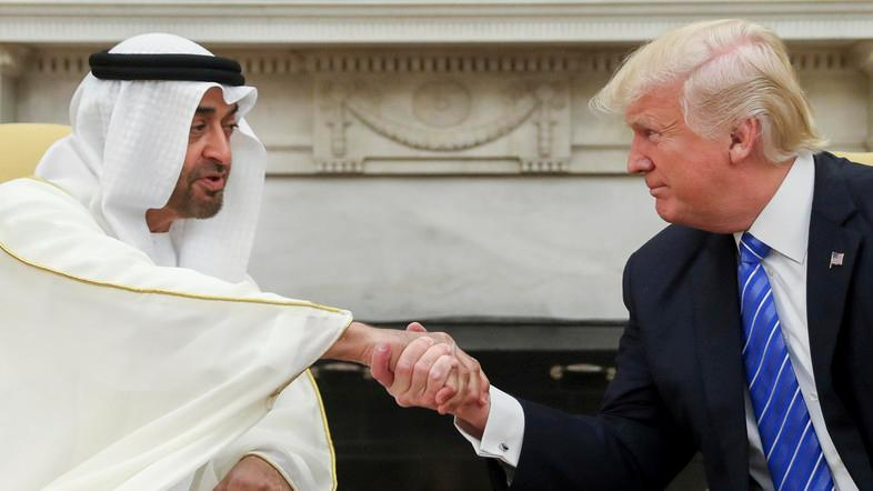 President Trump spoke by phone with Abu Dhabi Crown Prince, White House said in a statement. (File photo: AP)