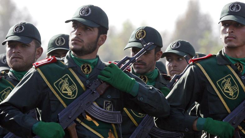 """""""The IRGC is the Iranian government's primary means of directing and implementing its global terrorist campaign,"""" Trump said. (File photo: AP)"""