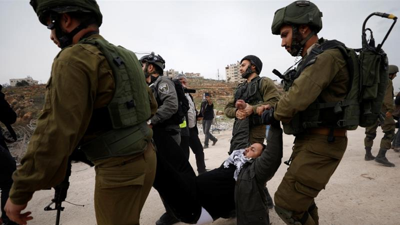 Since 1974, when the first Palestinian prisoner was released in an exchange deal, Palestinians have been commemorating April 17 as the Palestinian Prisoners' Day to shed light on the plight of prisoners in Israeli jails [File: Mohamad Torokman/Reuters]