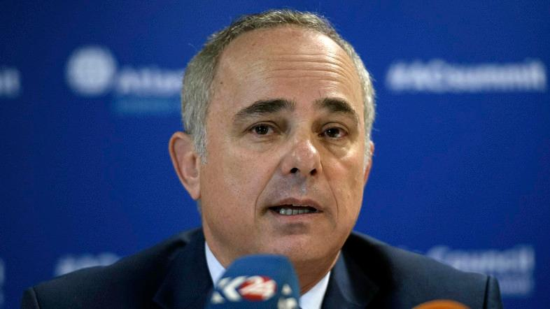 """""""I think there is already a final understanding, but it needs approval of the Israeli electric authority and maybe also of someone on the Egyptian side,"""" Energy Minister Yuval Steinitz said. (File photo: AP)"""