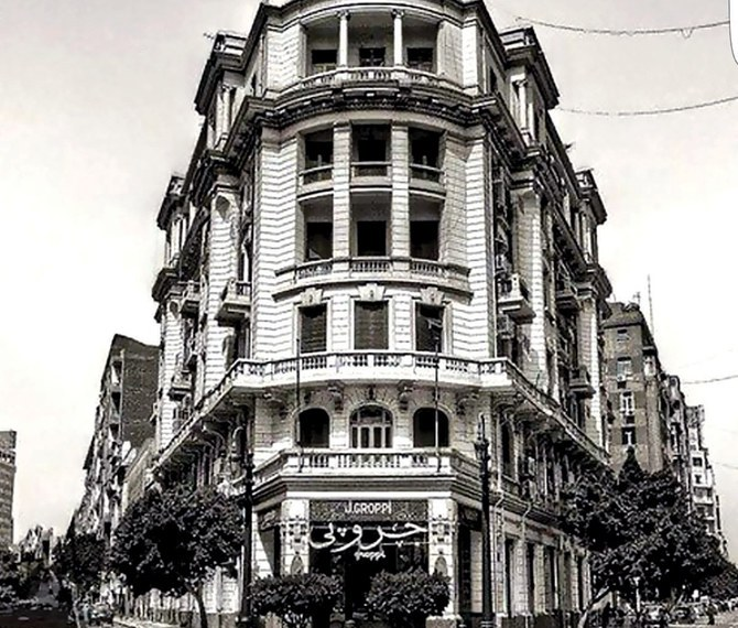 The famous Groppi cafe is located in downtown Cairo. (Photo/Supplied)