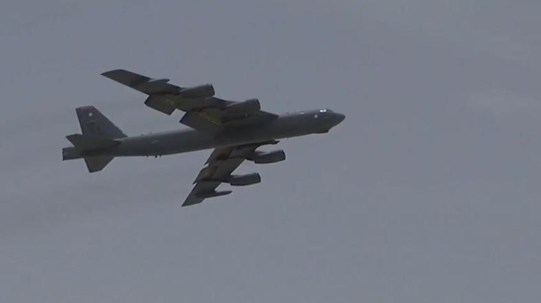 The B-52 bombers arrived at a major American air base in Qatar. (Photo courtesy: US Air Force, SGT Steven Adkins)