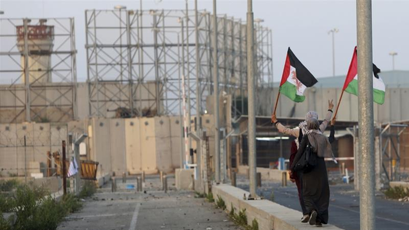 Palestinians in Gaza have been subjected to Israeli restrictions on movement for decades [Adel Hana/AP]