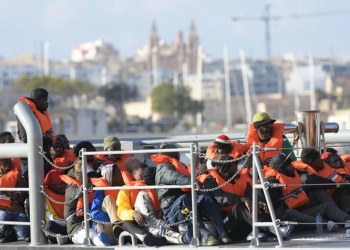 Cyprus, Greece, Malta and Italy are the main point of entry to Europe for many of the migrants fleeing the war in Syria and other regions. (File/AFP)