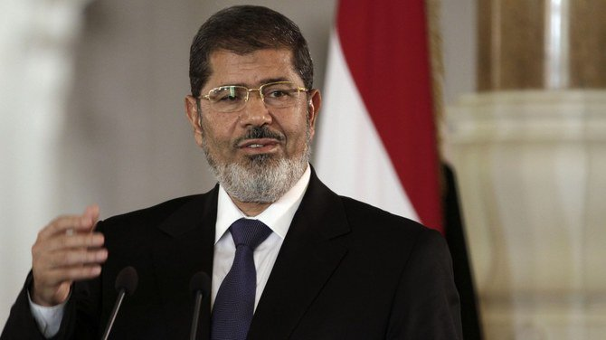 Egypt's state TV says the country's former President Mohamed Mursi collapsed during a court session and died on Monday. (AP/File Photo)