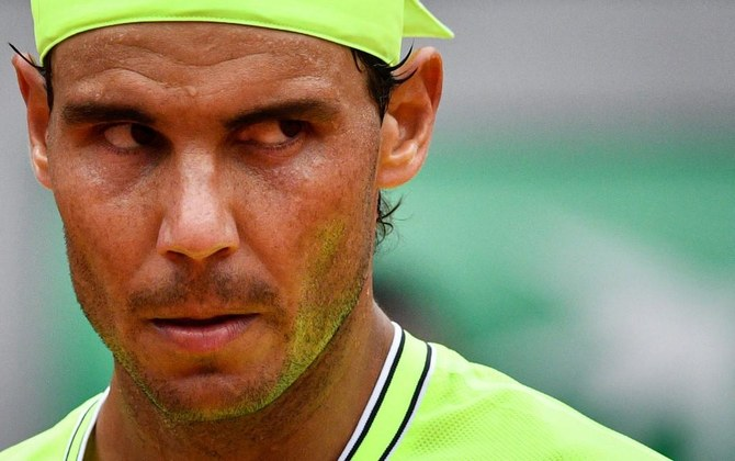 Second-ranked Rafael Nadal was placed at number three, behind Roger Federer, for next week's grand slam in London. (AFP)