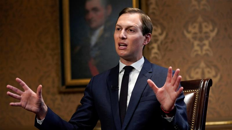 Jared Kushner's Middle East peace plan has been rejected by the Palestinian leadership [Kevin Lamarque/Reuters]
