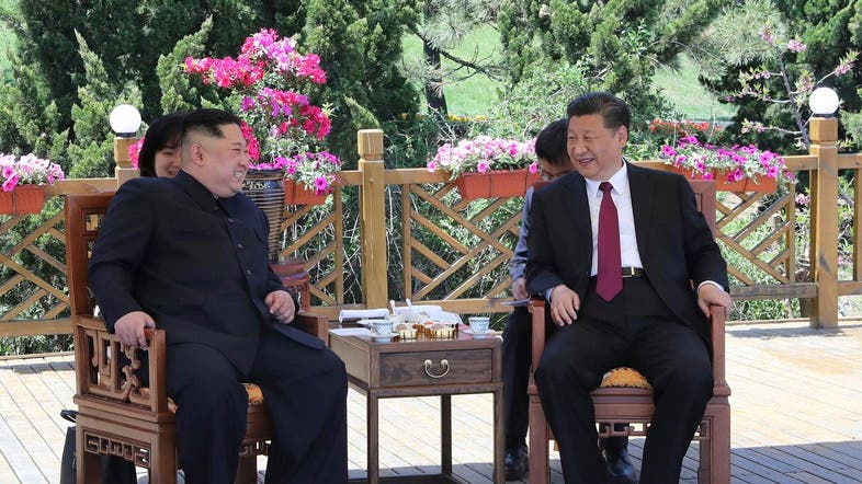 Xi left the North Korean capital Pyongyang on Friday after a two-day visit, the first by a Chinese leader in 14 years. (File photo: AP)