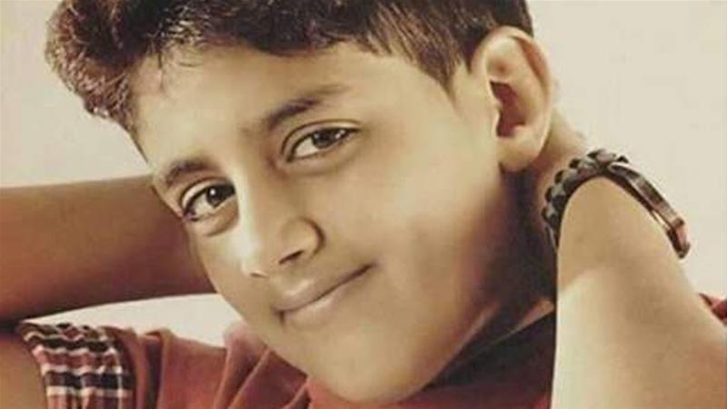 Murtaja Qureiris was reportedly arrested at the age of 13 [Amnesty International/Al Jazeera]