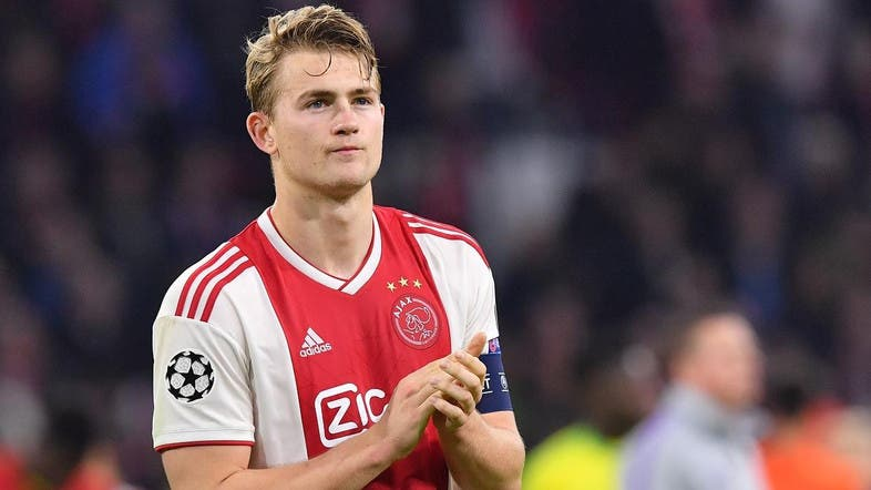 Juventus will pay $78.99 million for the Ajax captain. (File photo: AFP)