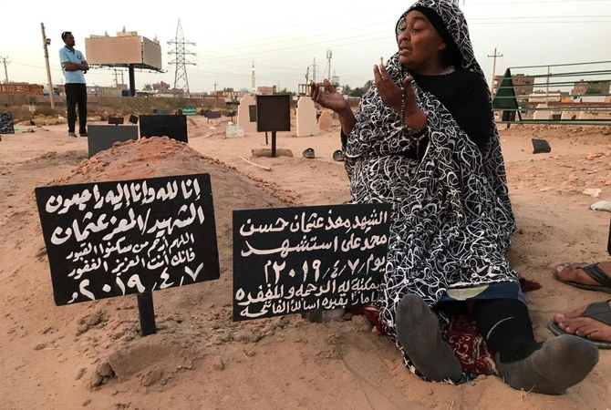 Many families paid a high price for Sudan's revolution that toppled its longtime autocratic ruler Omar Al-Bashir in April. (AFP)