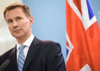British Foreign Secretary Jeremy Hunt says a tanker held by Gibraltar would be released if Tehran guaranteed it was not heading to Syria. (AFP)