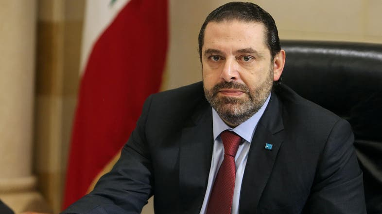 Lebanese Prime Minister Saad al-Hariri at a meeting in the governmental palace in Beirut, Lebanon. (File photo: Reuters)