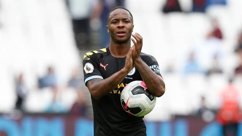 Manchester City forward Raheem Sterling's improving physicality, says Guardiola. (File photo: AFP)