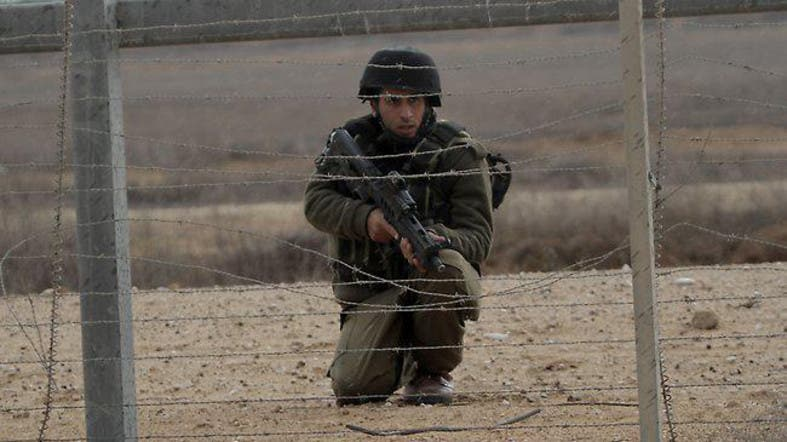 Four Palestinians were killed on the Gaza border by Israeli fire, the Israeli army said on Saturday. (AFP)