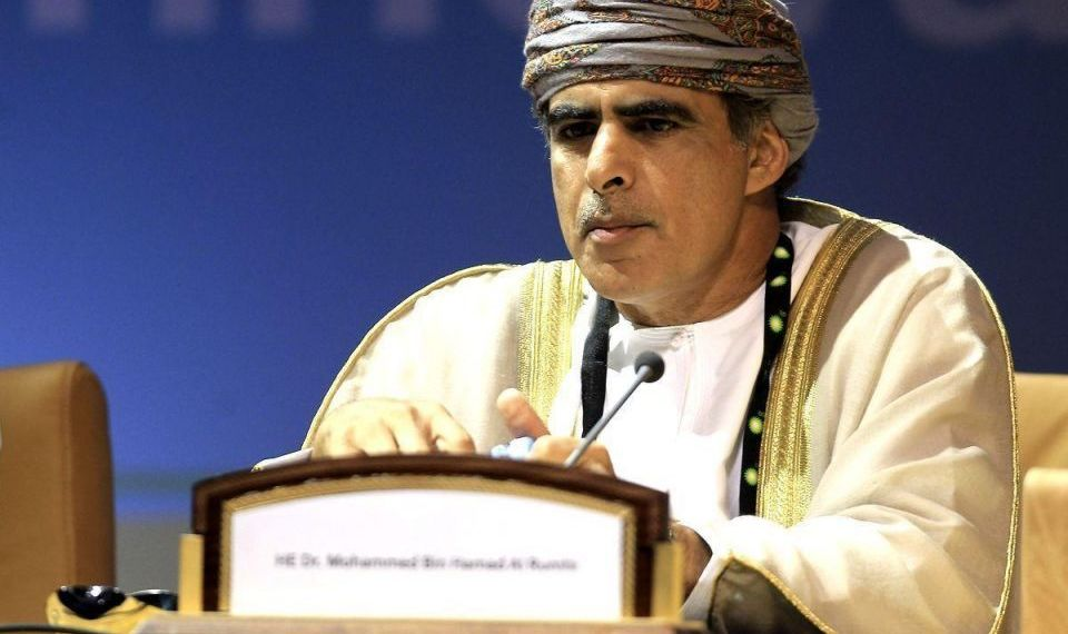 Minister of Oil and Gas of Oman, Mohammed bin Hamad Al Rumhi.