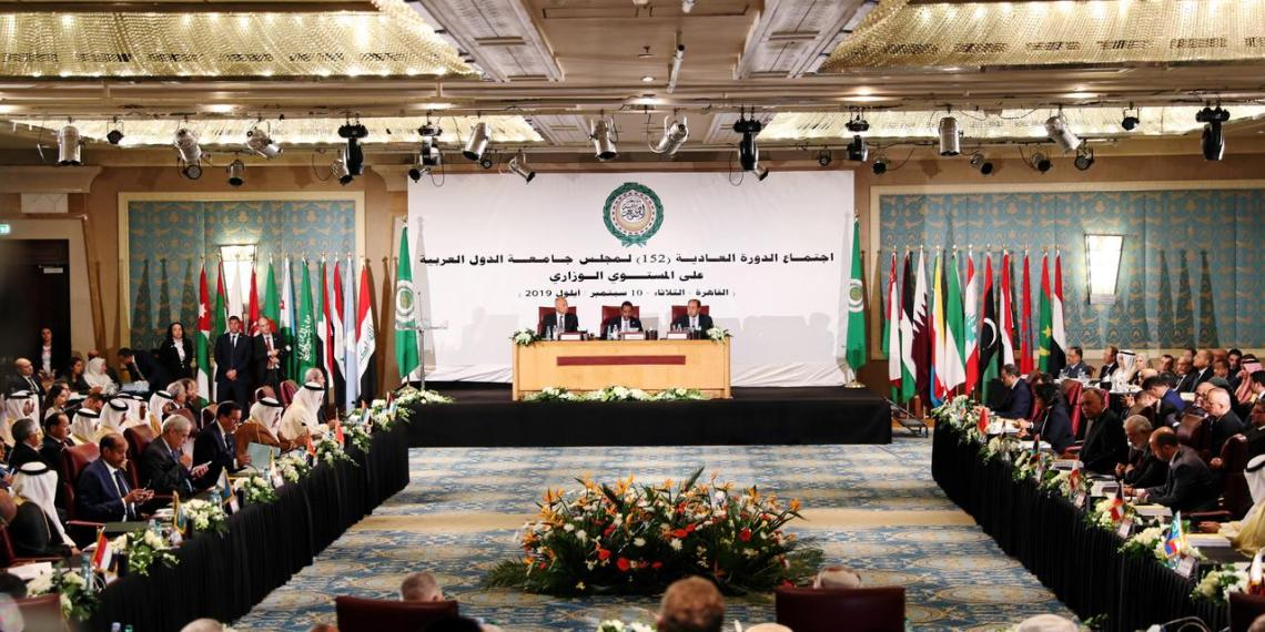 Arab foreign ministers and delegation members attend the annual Arab League meeting in Cairo, Egypt September 10, 2019. REUTERS/Mohamed Abd El Ghany