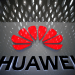 FILE PHOTO: A Huawei company logo is pictured at the Shenzhen International Airport in Shenzhen, Guangdong province, China July 22, 2019. REUTERS/Aly Song