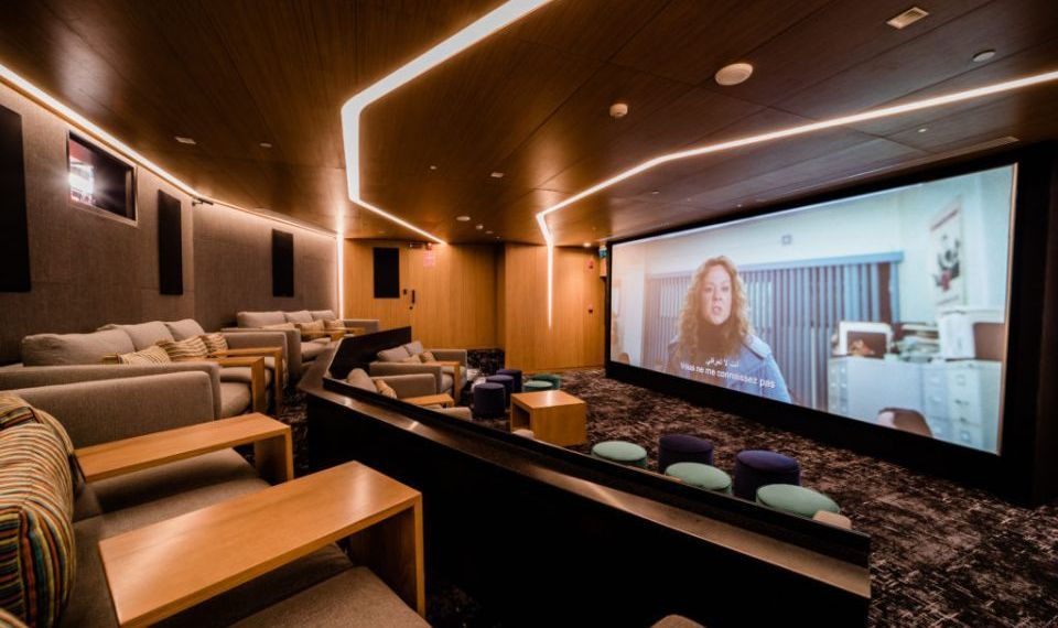 A first-of-its-kind in a hotel, the private screening room along with a private lounge brings together the best movies, five-star food, drinks for about 15 people.