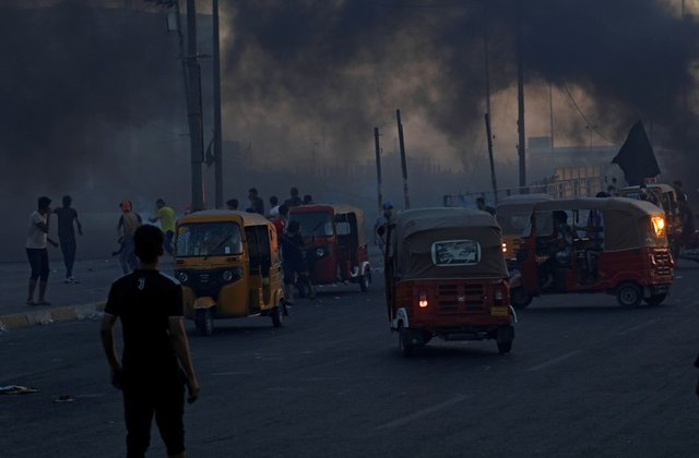 Rescue by tuk tuk as snipers rain death onto Baghdad streets
