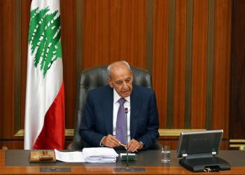 FILE PHOTO: Lebanese Parliament Speaker Nabih Berri chairs a parliamentary session in downtown Beirut, Lebanon July 16, 2019. REUTERS/Mohamed Azakir/File Photo