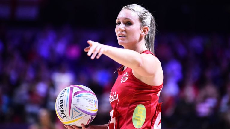 The Roses' next competitive netball will be in the Vitality Nations Cup in January